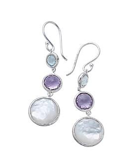 IPPOLITA - Sterling Silver Lollitini Multi-Gemstone Drop Earrings