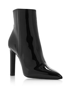 Saint Laurent - Women's Kate Zip-Up High-Heel Booties
