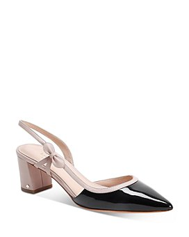 kate spade new york - Women's Midge Bow Mid-Heel Pumps