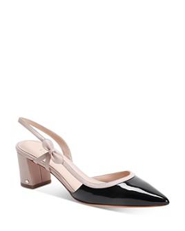 kate spade new york - Women's Midge Bow Mid-Heel Pumps