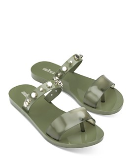 Melissa - Women's Love Lip II Slip On Sandals
