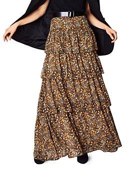 ba&sh - Sibil Botanical-Print Maxi Skirt