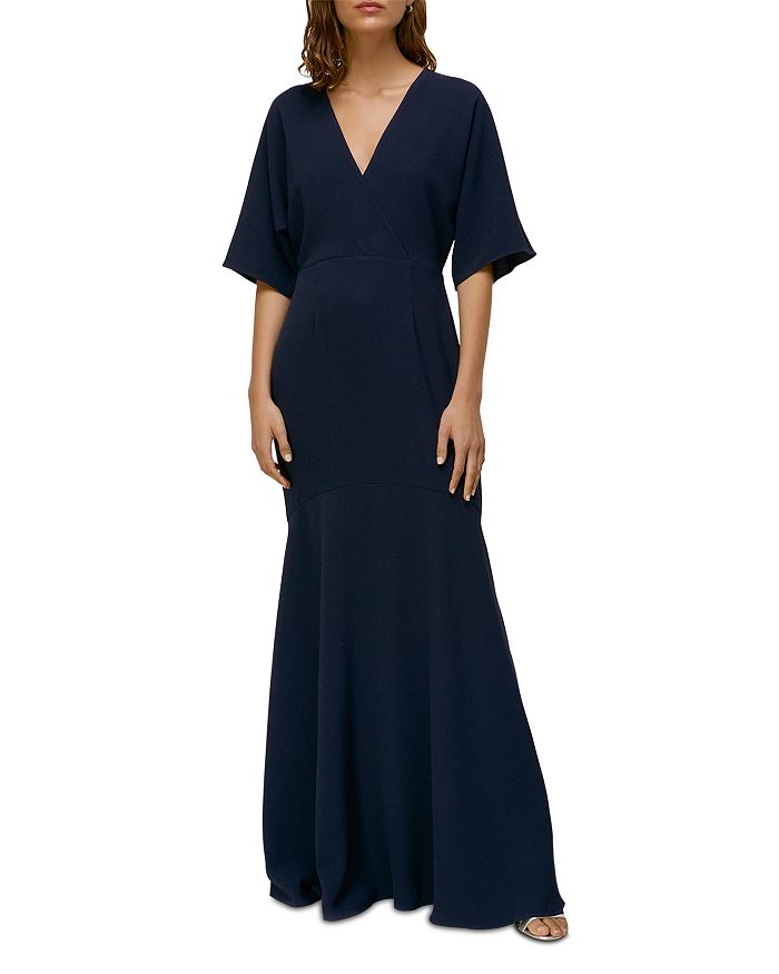 Whistles - Jess V Neck Maxi Dress