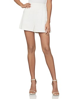 BCBGMAXAZRIA - Pleated Shorts