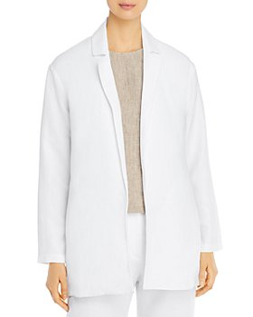 Eileen Fisher Petites - Notched-Lapel Blazer