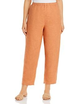 Eileen Fisher Plus - Organic Linen Lantern Pants