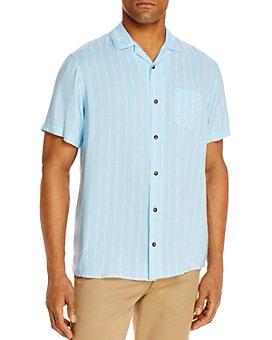 Sovereign Code - Graham Stripe Slim Fit Button-Up Camp Shirt