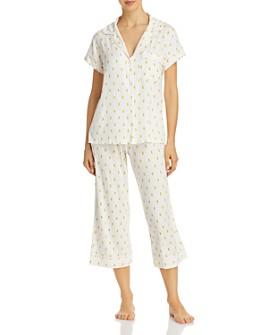 Eberjey - Printed Capri Pants Pajama Set