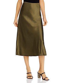 FRAME - Pull-On Midi Skirt