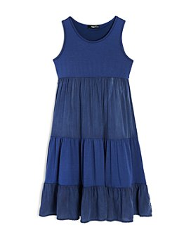 AQUA - Girls' Tiered Sleeveless Dress, Big Kid - 100% Exclusive