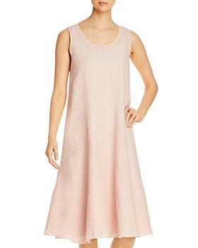 Eileen Fisher - Organic Linen Scoop Neck Dress - 100% Exclusive