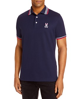 Psycho Bunny - Woburn Sports Tipped Logo Classic Fit Polo Shirt