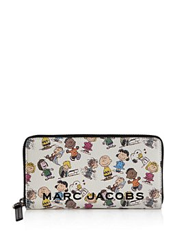 MARC JACOBS - Box Peanuts Leather Continental Wallet