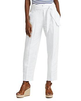 Ralph Lauren - Cropped Straight-Leg Pants