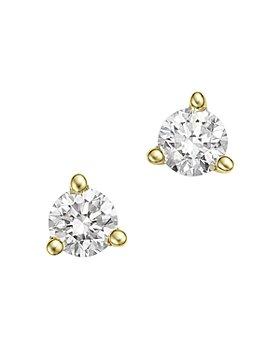 Bloomingdale's - Diamond Stud Earrings in 14K Yellow Gold, 0.20 ct. t.w. - 100% Exclusive