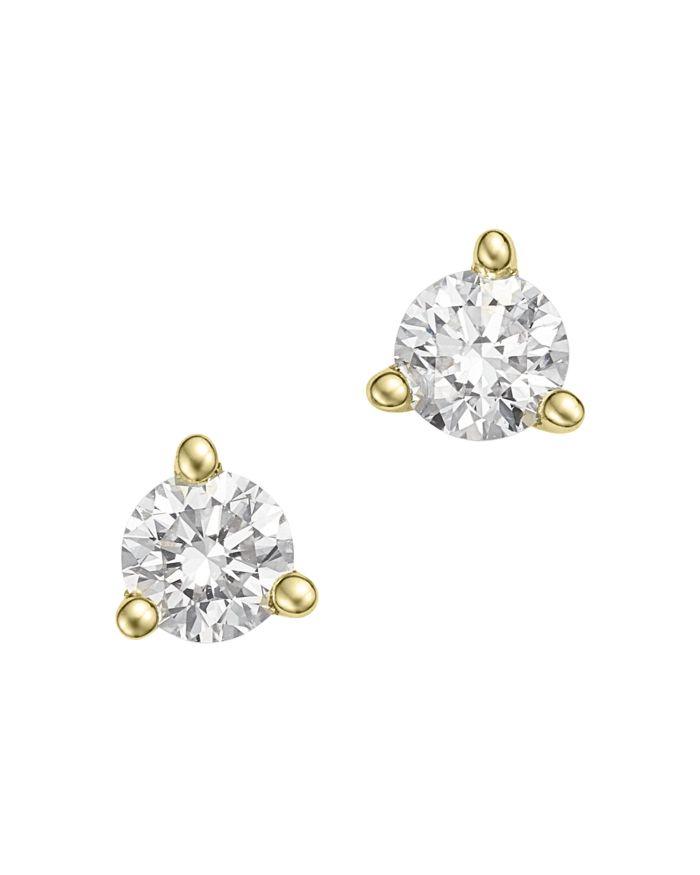Bloomingdale's Diamond Stud Earrings in 14K Yellow Gold, 0.20 ct. t.w. - 100% Exclusive    Bloomingdale's