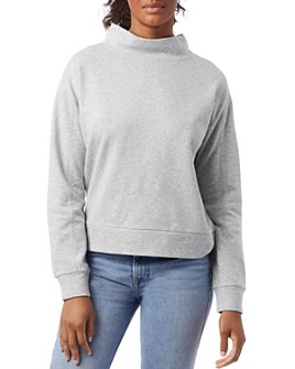 ALTERNATIVE - Mock Turtleneck Sweatshirt