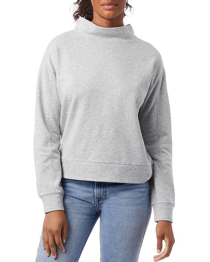 ALTERNATIVE - Mock Turtleneck Sweatshirt