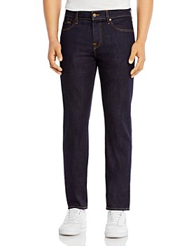 7 For All Mankind - Slimmy Slim Fit Luxe Performance Jeans in Dark And Clean