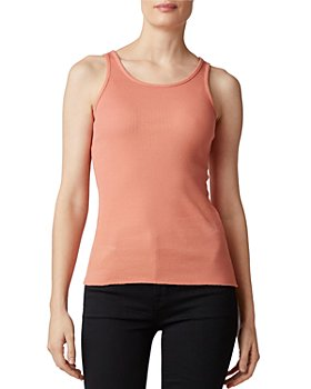 J Brand - Gabbey Ribbed Tank Top