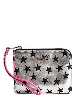 Zadig & Voltaire - Uma Stars Circus Mini Leather ZV Wallet