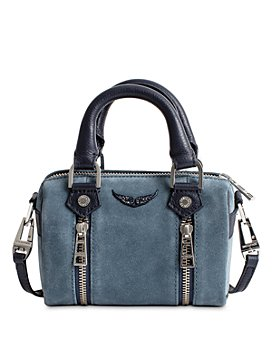 Zadig & Voltaire - Sunny Mini Suede Bowling Bag