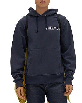 Helmut Lang - Standard Glow Logo Hoodie