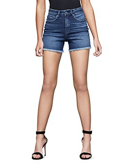 Good American - The Bombshell Cutoff Denim Shorts
