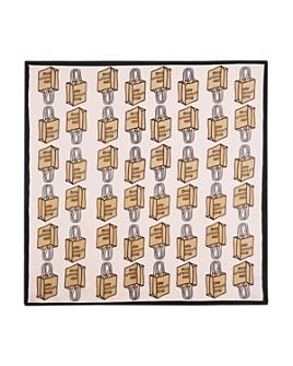 Echo - Little Brown Bag Silk Neckerchief - 100% Exclusive