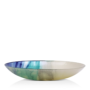 Vietri Sea Glass Ombre Large Serving Bowl-Home