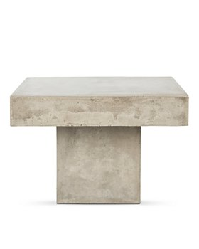 SAFAVIEH - Tallen Indoor/Outdoor Modern Concrete Coffee Table