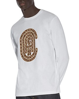 COACH - Embroidered Logo Long-Sleeve Tee
