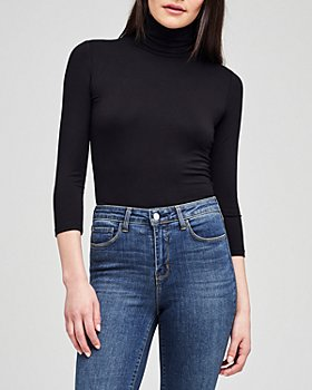 L'AGENCE - Aida Turtleneck Bodysuit