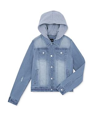 Joe\\\'s Jeans Boys\\\' Hooded Denim Jacket, Big Kid - 100% Exclusive-Kids