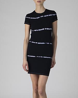 Atm Anthony Thomas Melillo Tie-Dyed Mini Tee Dress-Women
