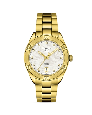 Tissot Pr 100 Classic Chronograph, 36mm-Jewelry & Accessories