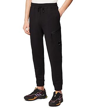 C.p. Company Diagonal Cotton Fleece Sweatpants-Men