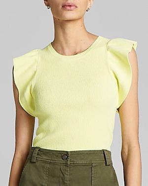 A.l.c. Holley Ruffle-Sleeve Top-Women