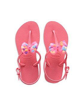havaianas - Girls' Freedom Slim Pompom Sandals - Toddler, Little Kid