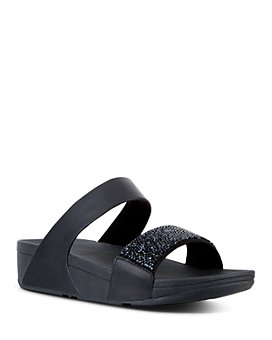 FitFlop - Women's Sparklie Crystal Slide Sandals