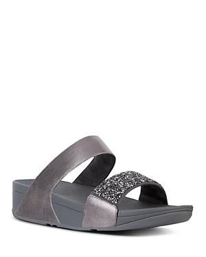 FitFlop Women\\\'s Sparklie Crystal Slide Sandals