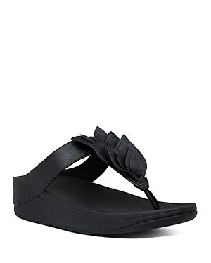 FitFlop Women\\\'s Fino Leaf Thong Sandals