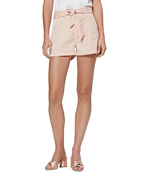 PAIGE - Anessa High Rise Belted Shorts