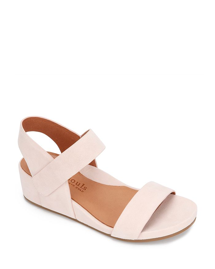 Gentle Souls by Kenneth Cole - Women's Gisele Double Band Wedge Sandals