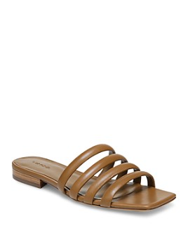 Vince - Women's Zahara Square Toe Slide Sandals