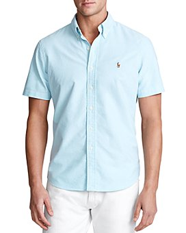 Polo Ralph Lauren - Classic Fit Button-Down Short-Sleeve Oxford Shirt