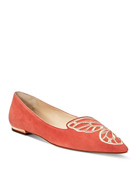 Sophia Webster - Women's Butterfly Embroidery Flats - 100% Exclusive