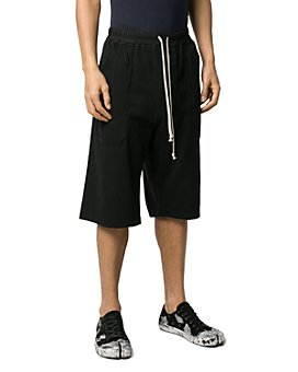 DRKSHDW Rick Owens - Level Cotton Regular Fit Drawstring Shorts