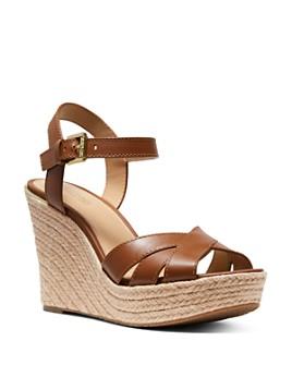 MICHAEL Michael Kors - Women's Suzette Espadrille Wedge Heel Sandals