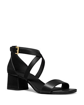 MICHAEL Michael Kors - Women's Diane Cross Strap Mid Heel Sandals
